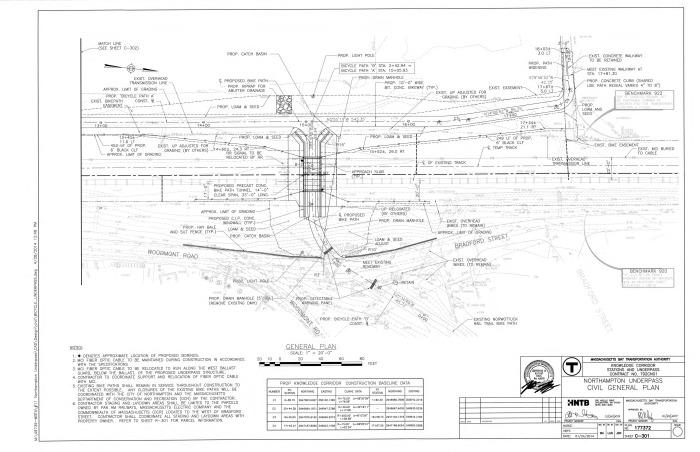 Northampton Underpass Plan