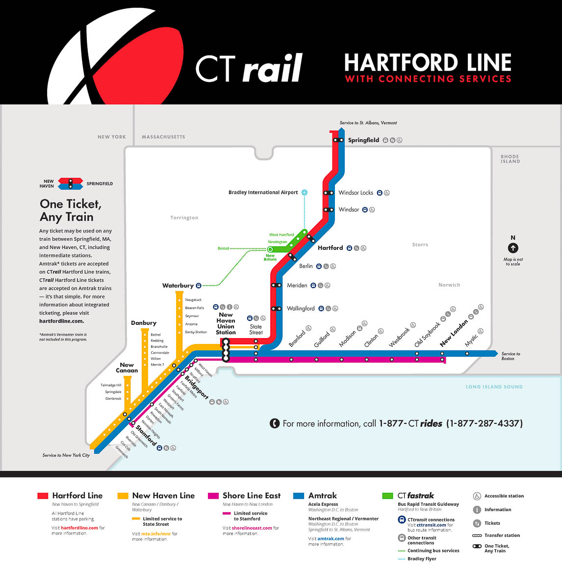 Hartford Line | Trains In The Valley