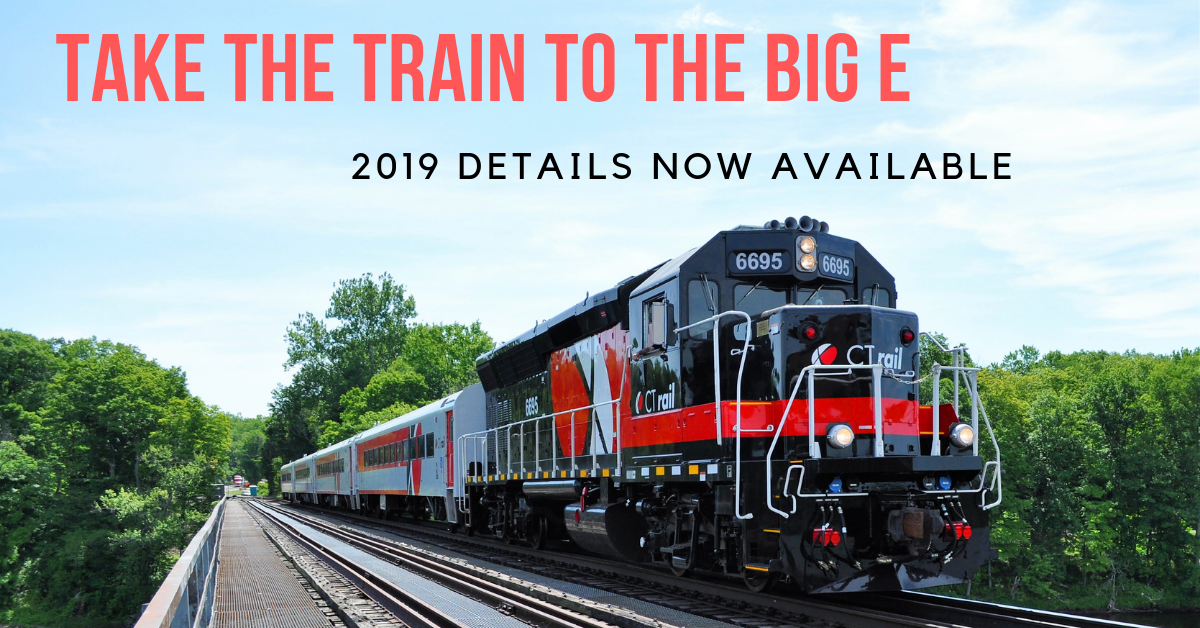 Trains to The Big E | Trains In The Valley